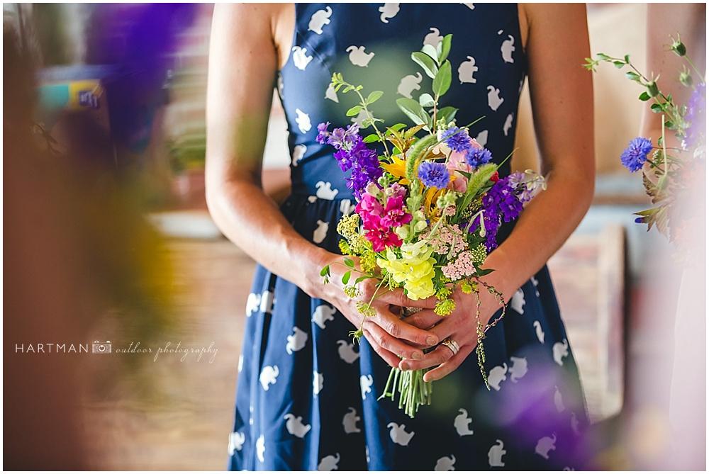Wildflower bouquets Raleigh Durham