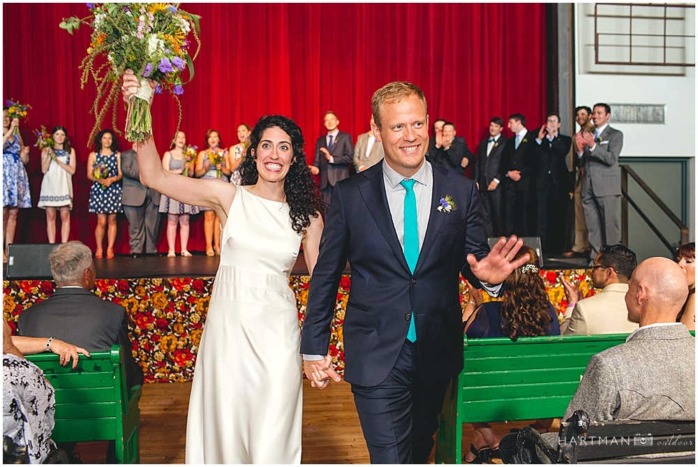 Haw River Ballroom Indoor Wedding Ceremony
