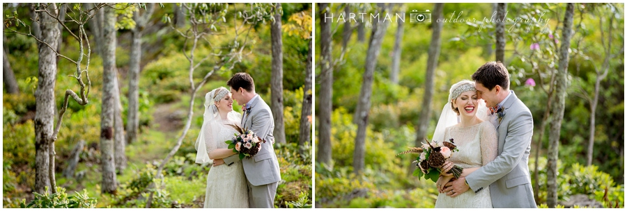 North Carolina Mountain Wedding Couples Portraits Photographer