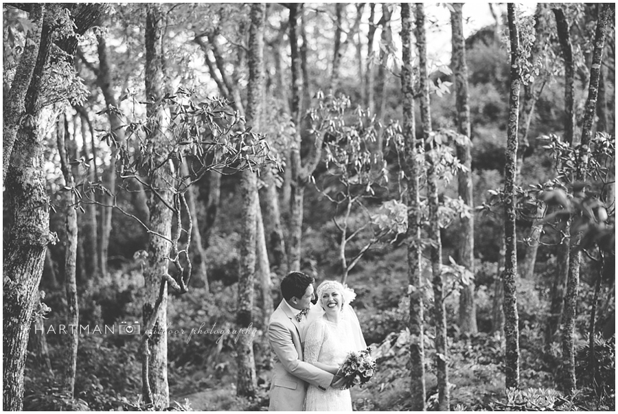 North Carolina Mountain Destination Wedding Photographer