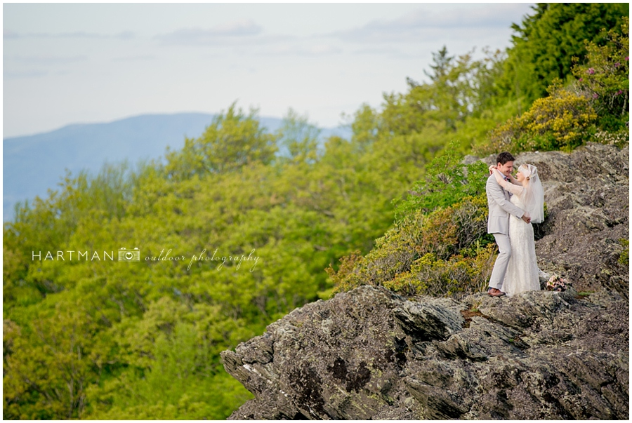 North Carolina Destination Mountain Wedding Photographer