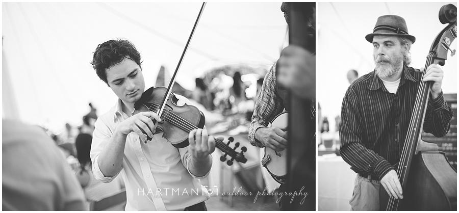 Asheville Wedding Bluegrass band