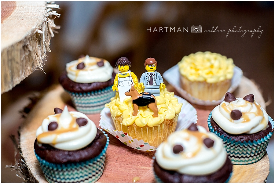 Lego bride and groom cake toppers cupcake toppers