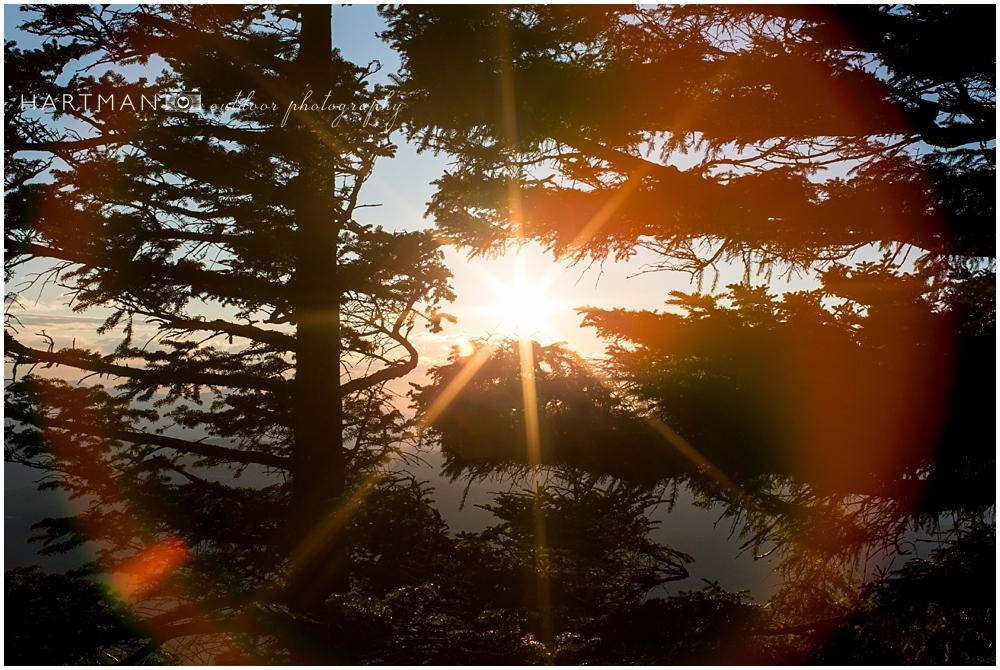 Sunrise Grandfather Mountain
