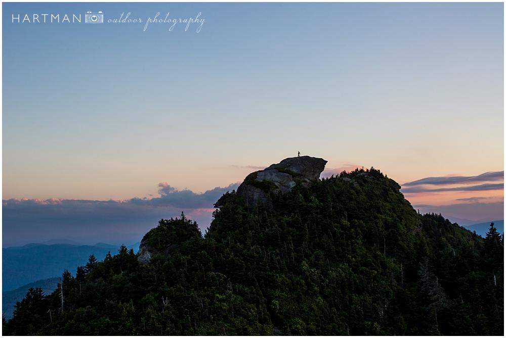 McCrae's Peak Sunset Asheville Photographer