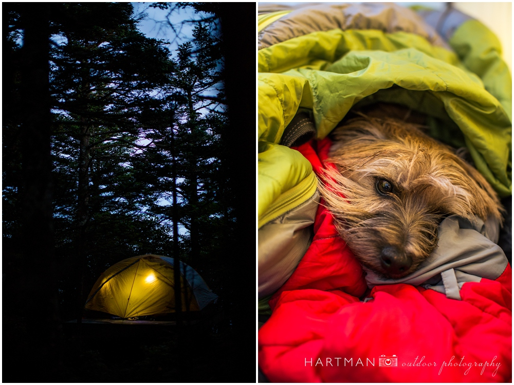 Backcountry Camping Grandfather