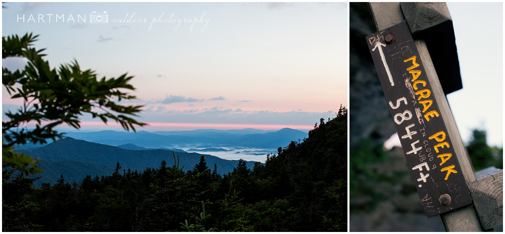 McCrae's Peak Profile Trail