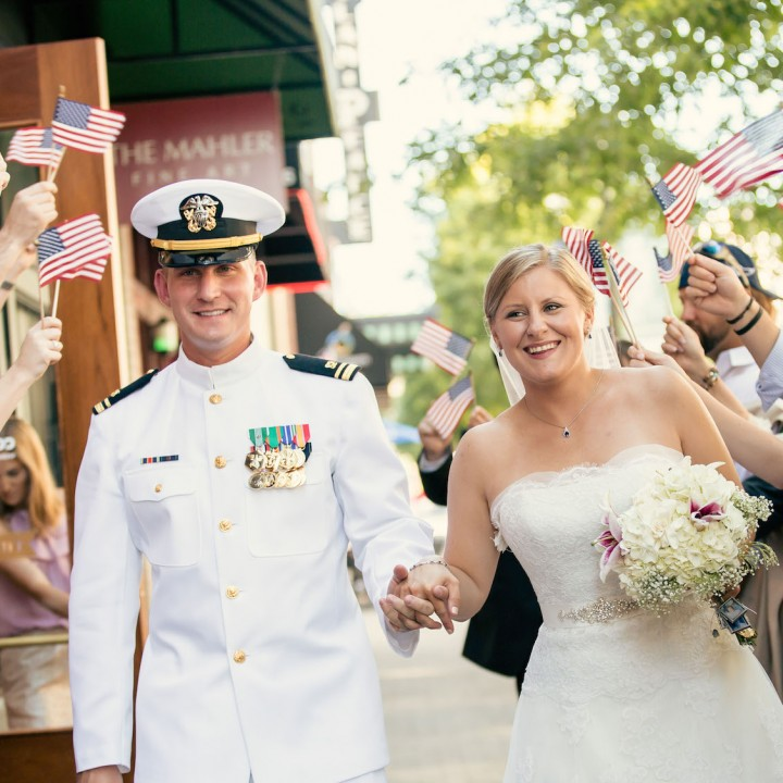 Kathleen + Edward | Stockroom 230 Patriotic Wedding