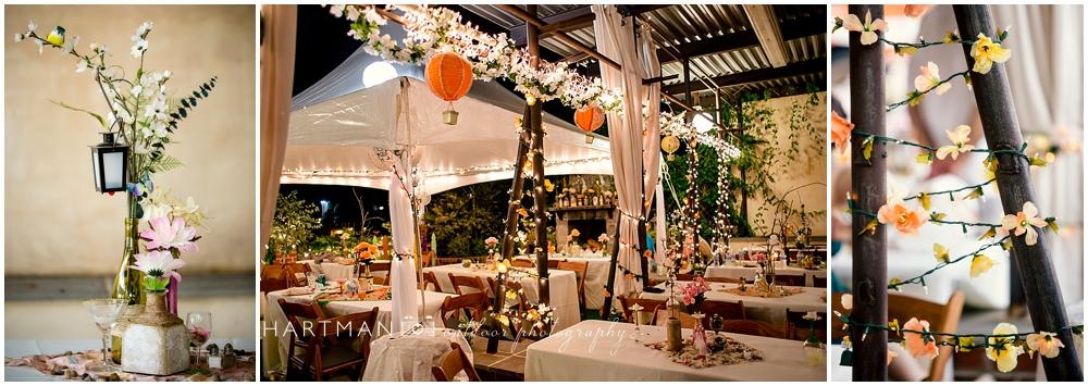 Wine and Design Wedding Reception