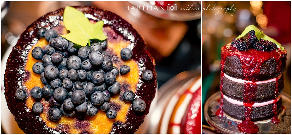 Blueberry Raspberry Wedding Pie