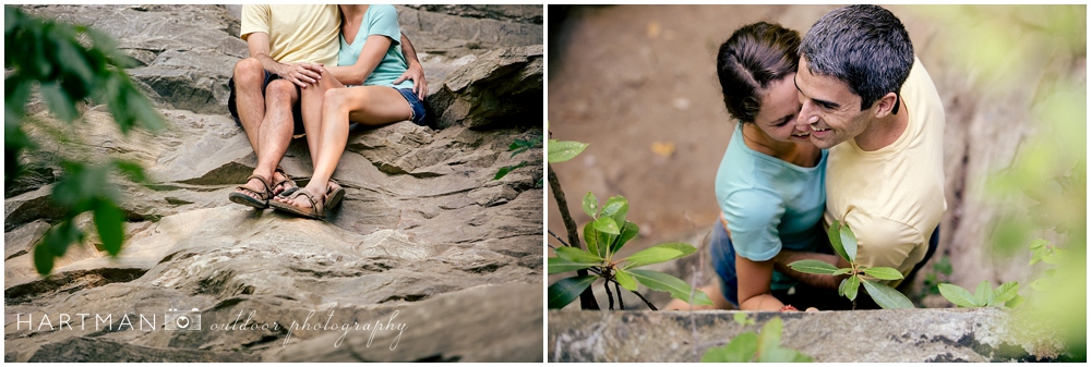 NC Mountain Outdoor Engagement Session