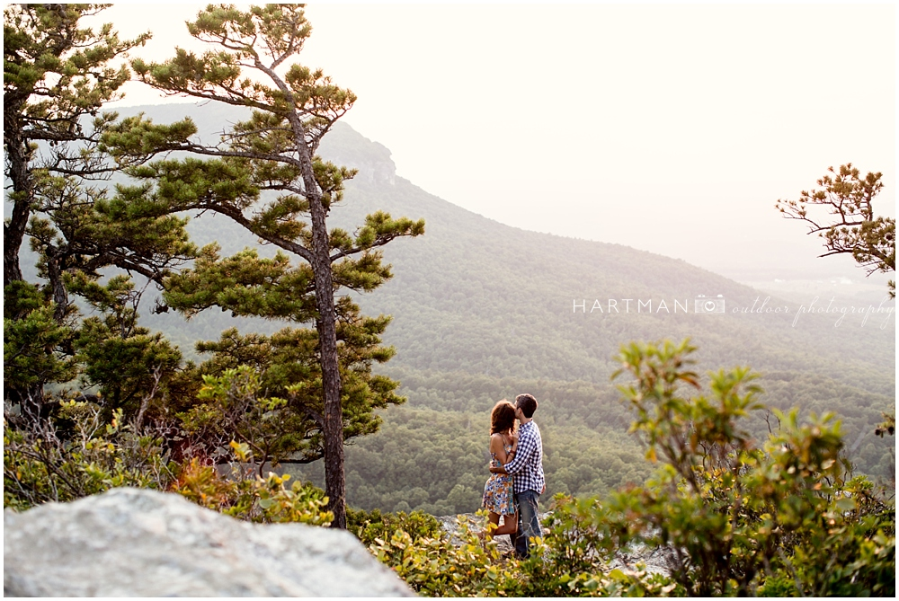 Sarah and Caleb North Carolina Engagement