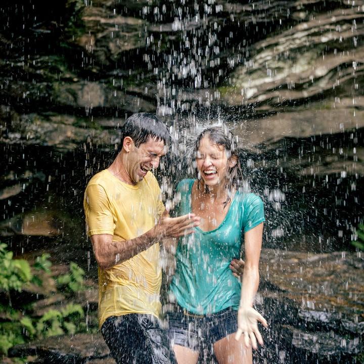 Sarah + Caleb | Hanging Rock State Park Engagement