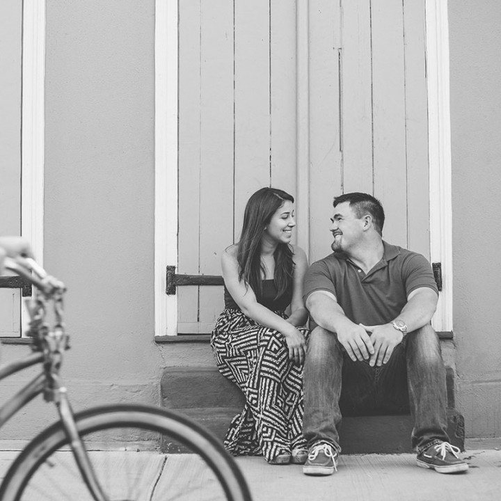 Amber + Chase | New Orleans Engagement