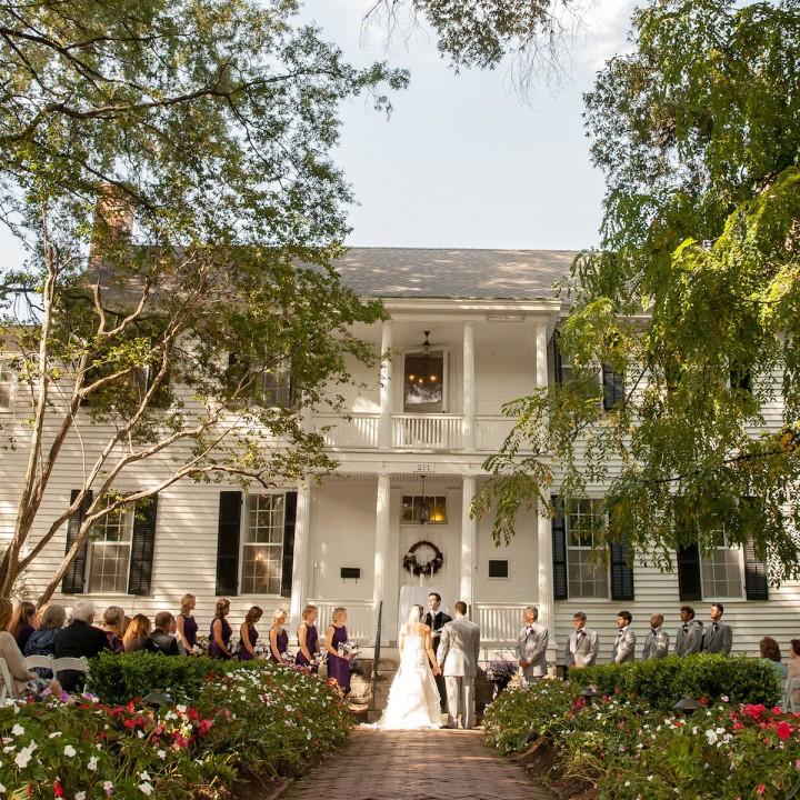 Ashley + Alex | Historic Haywood Hall Wedding