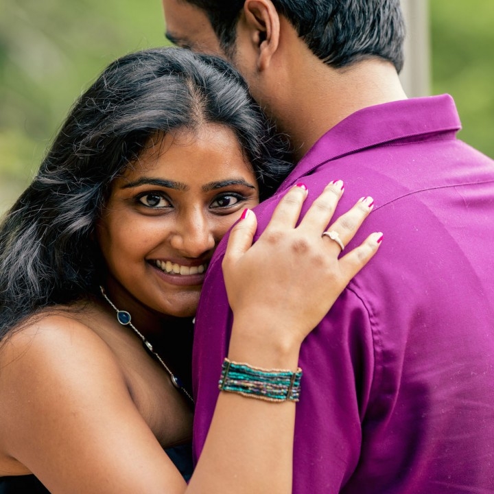 Dhatri + Deepak | Durham Engagement Session