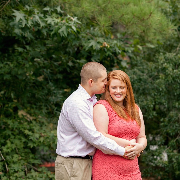 Kathleen + Roland | Raleigh-Durham Rustic Engagement Session
