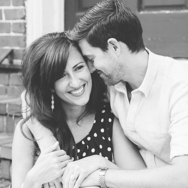 Olivia + Sean | Historic Downtown Hillsborough Engagement