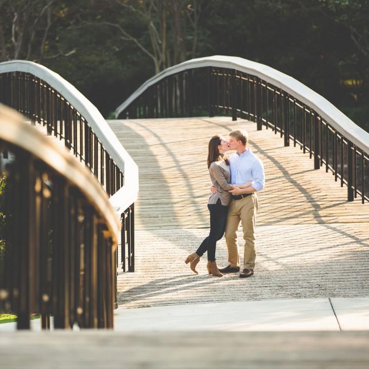 Liz + Adam | Raleigh Engagement Session