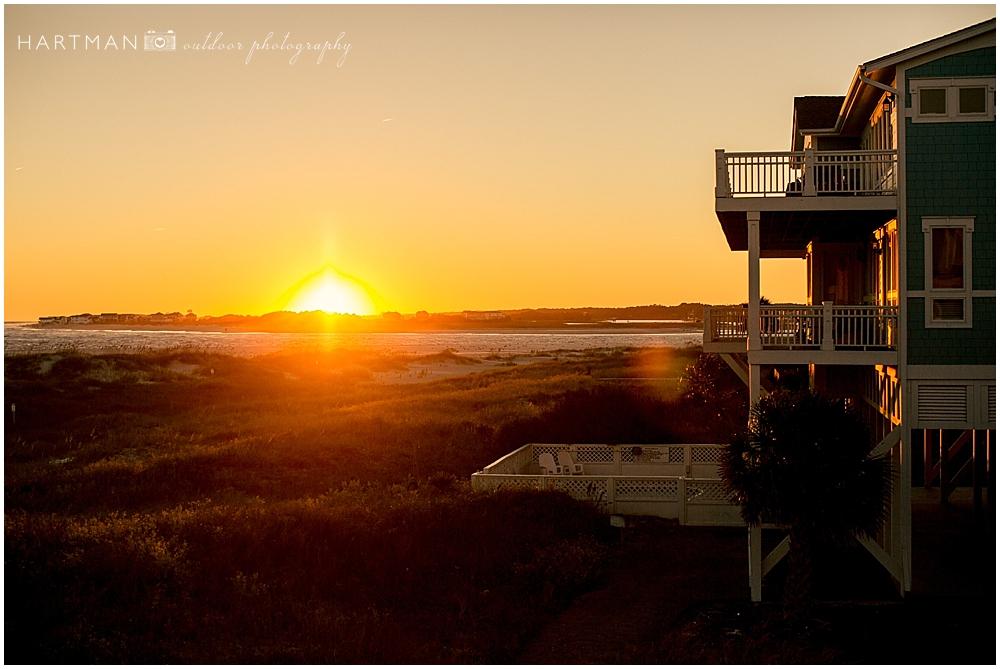 Sunset Holden Beach 0106