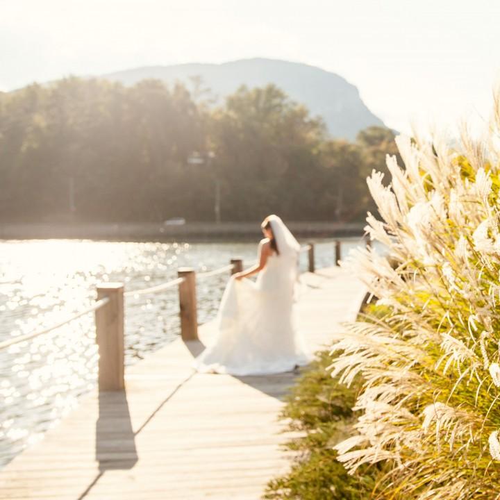 Anna | Lake Lure Inn Bridal Session