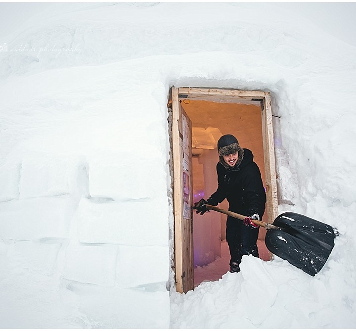 Our Stay in a Mountaintop Igloo at Balea Lac