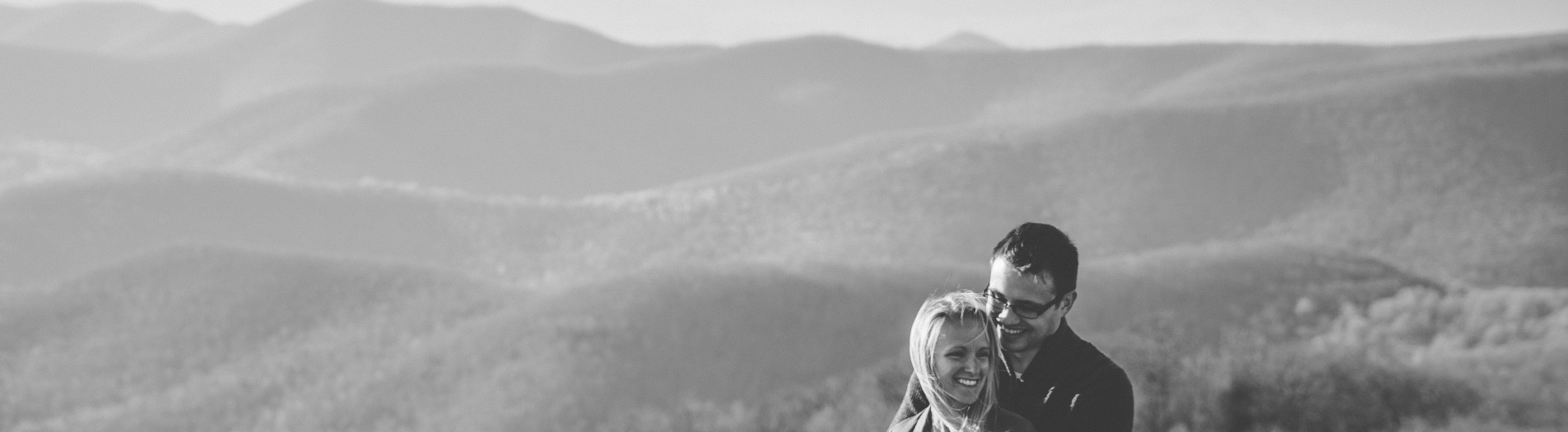 Brittany + Rob | Shenandoah National Park Engagement