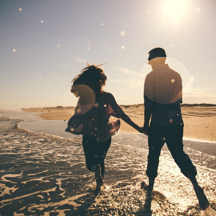 Kelly + Chris | A Flight to Ocracoke Engagement