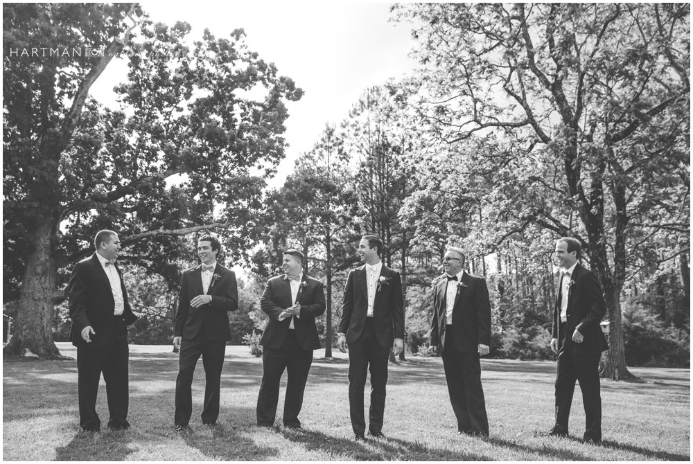 Groomsmen Magnolia Manor Plantation