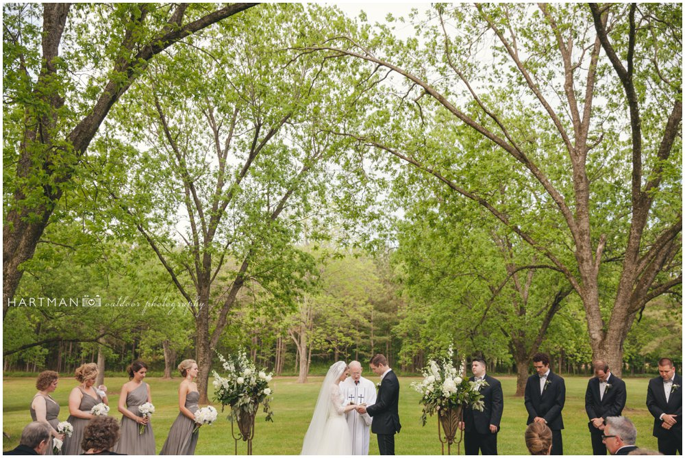 Magnolia Manor Outdoor Wedding Pecan Grove
