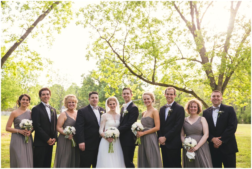 Magnolia Manor Wedding Party Portraits