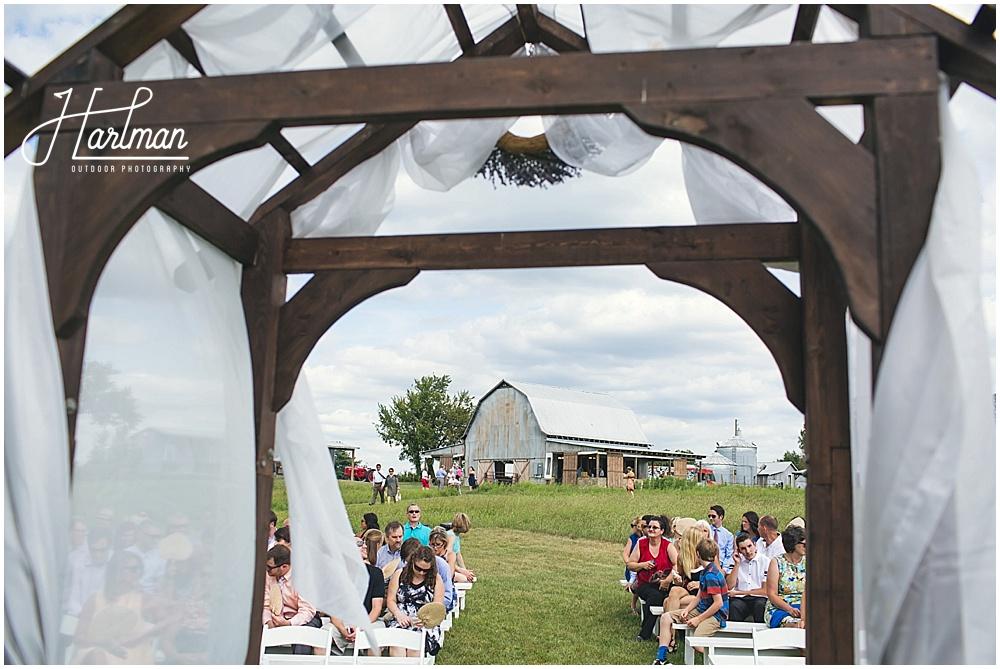 Starlight Meadow Outdoor Ceremony