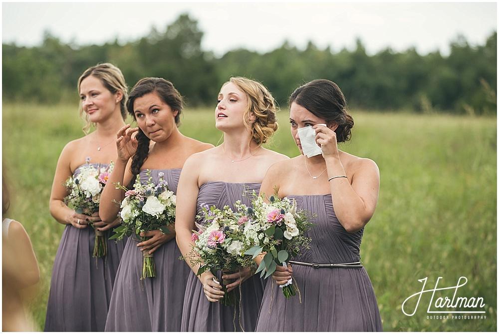Lavendar Meadow North Carolina Bridesmaids