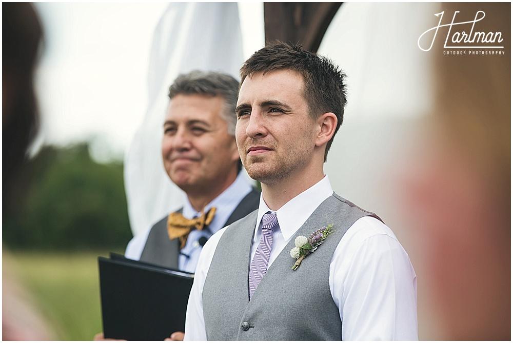 North Carolina Piedmont Outdoor Wedding