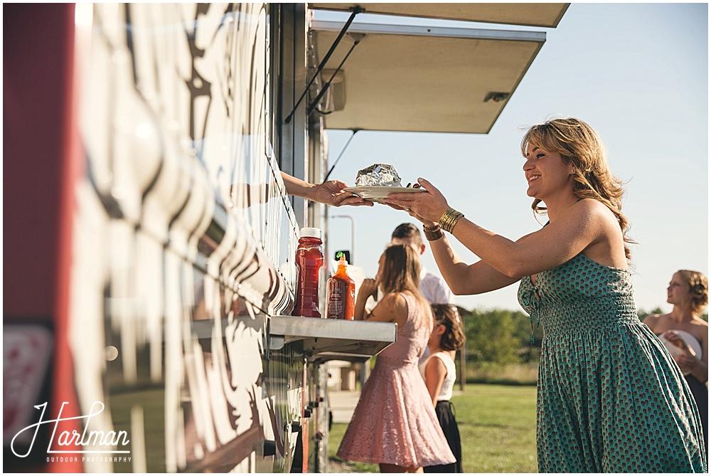 Raleigh Food Truck Wedding Food