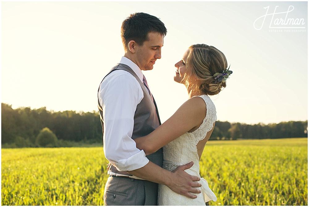 Greensboro Outdoor Wedding Ceremony Reception