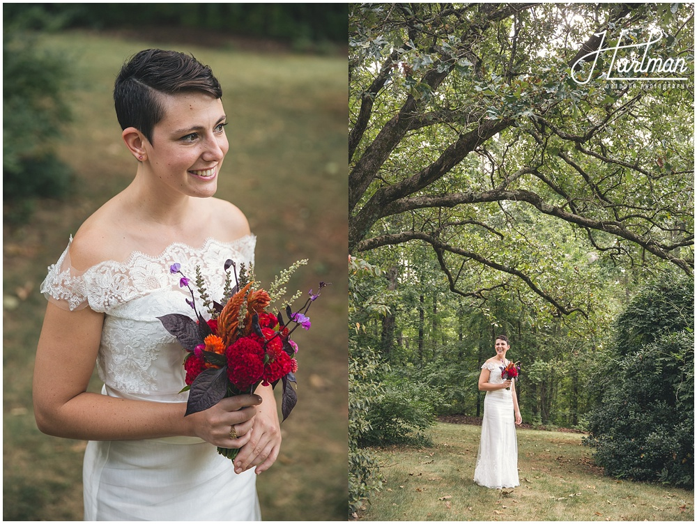 Rock Quarry Farm Bridal Portraits