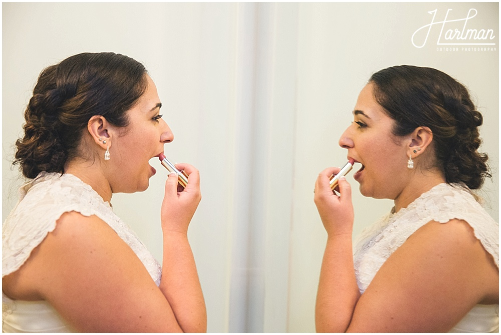 Bridal Portraits inn at celebrity dairy
