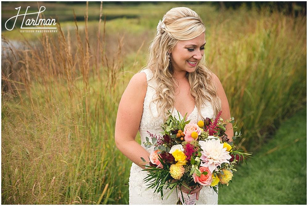 Morton Arboretum bridal portrait