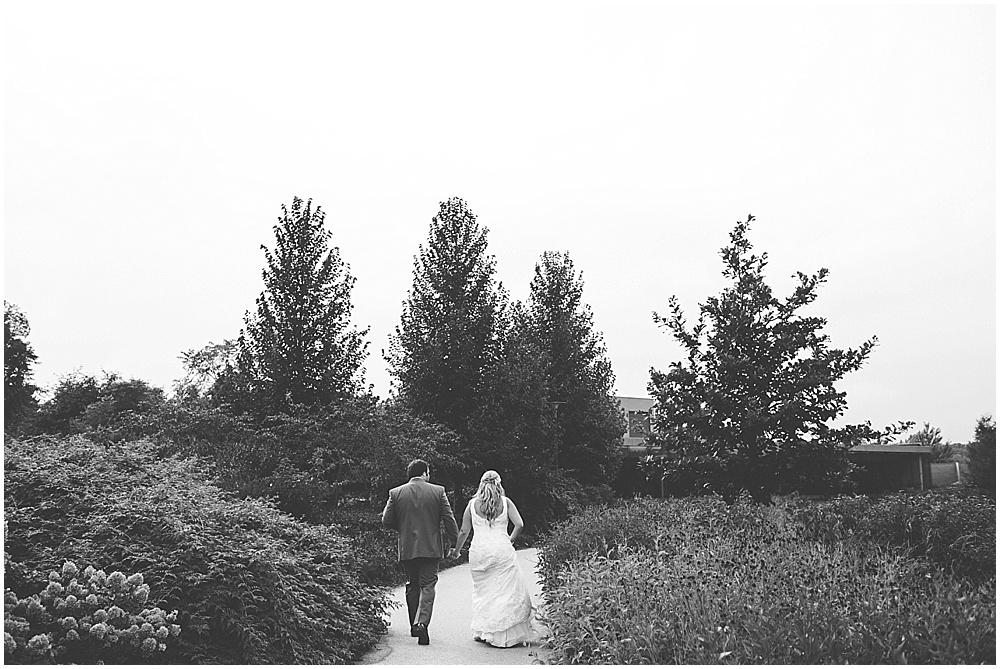 Morton Arboretum Outdoor Fall Wedding