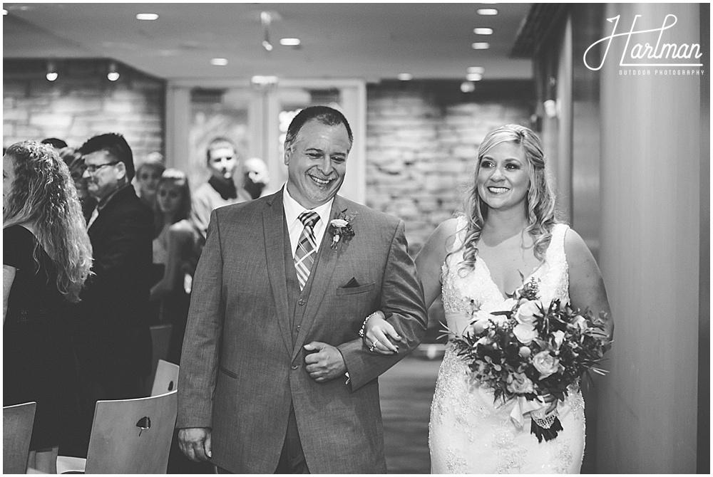 Morton Arboretum Wedding ceremony