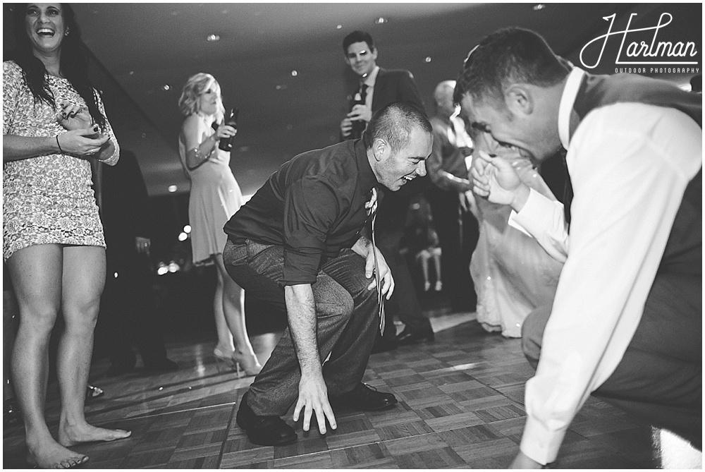 Morton Arboretum Wedding dancing