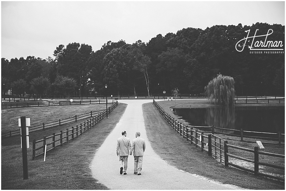 Raleigh Durham Same Sex Wedding portraits