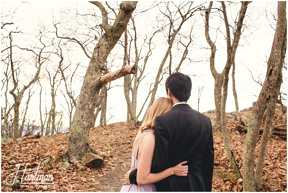 Shenandoah Big Meadows Elopement on Cliff 1074