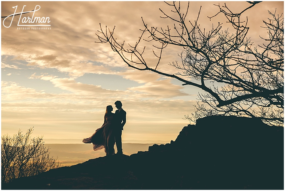 Epic Shenandoah Big Meadows Elopement Anniversary Engagement 1088