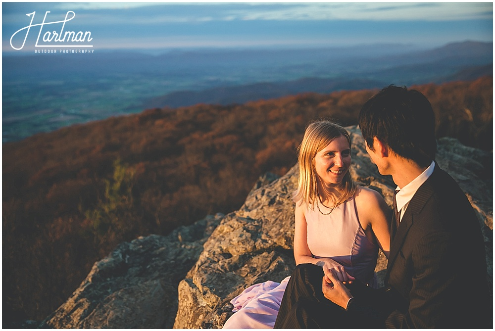 Shenandoah National Park Big Meadows Engagement Photographer 1107