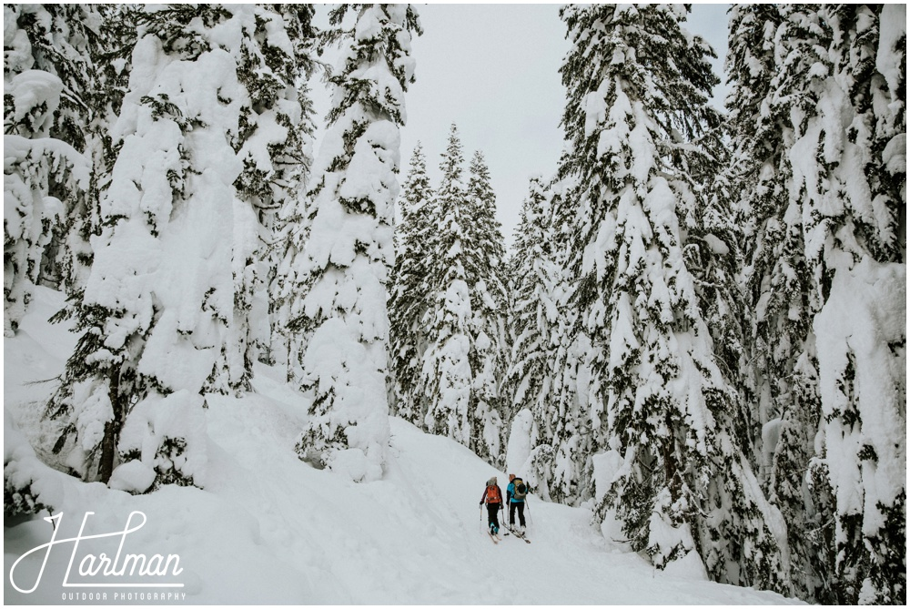 Backcountry Skiing Engagement Wedding Elopement_0012