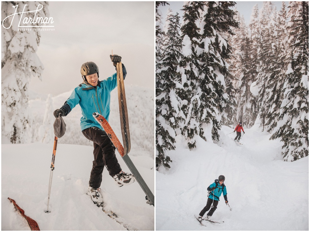 Cascades Backcountry Skiing Engagement Session_0030