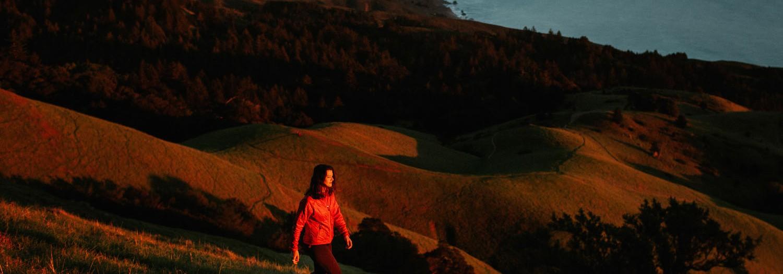 Sunset on Mount Tamalpais   California