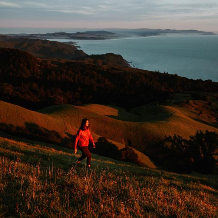Sunset on Mount Tamalpais | California